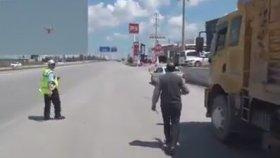 Drone Trafik Polisi'nin Gazabına Uğrayan Çorumlu