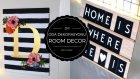 Ucuz Ve Kolay Oda Dekorasyonu / Dıy Room Decor