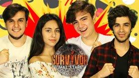 Gerçek Hayatta Survivor Ödül Oyunu Oynadık !