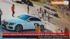 Kırmızı Işıkta Geçen Otomobil Motosiklete Böyle Çarptı: 1 Yaralı