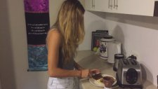 Nutella'yı Yaşam Biçimi Haline Getiren Kadın