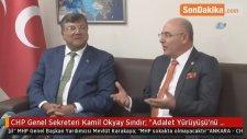 CHP Genel Sekreteri Kamil Okyay Sındır: