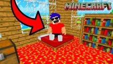 YER ALEVLİ CHALLENGE! - Minecraft FLOOR IS LAVA CHALLENGE