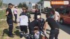 1'i Ağır 6 Kişinin Yaralandığı Servis Minibüsü Kazası Güvenlik Kamerasında