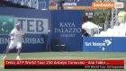 Tenis: ATP World Tour 250 Antalya Turnuvası - Ana Tablo Çeyrek Final ve Çiftler Yarı Final...