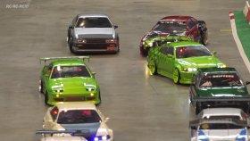 Model Arabalarla Yapılan Drift Yarışması