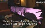 3 Ekranlı Laptop  Project Valerie