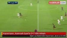 Kayserispor, Asamoah Gyan'la 2+1 Yıllık Anlaştı
