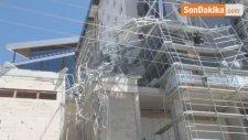 Konya'da İnşaat İskelesi Çöktü: 1 Ölü