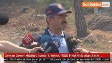 Orman Genel Müdürü İsmail Üzmez,