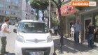 Otomobilden Teyp Çalan Hırsız Güvenlik Kamerasına Yakalandı