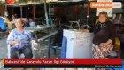 Balıkesir'de Karayolu Pazarı İlgi Görüyor