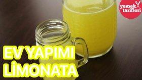 Ev Yapımı Limonata Tarifi | Pastane Limonatası | Yemek Tarifleri