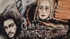 Game of Thrones 7. Sezon Karakterlerinin Kum Sanatı İle Yapılması