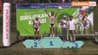 Kocaeli'nde Yapılan Dağ Bisikleti Yarışları Nefes Kesti