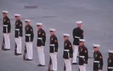 Amerikan Askerinin Tören Şovu