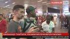 Galatasaraylı Taraftarlar, Havaalanında Emenike'yle Karşılaştı