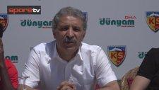 Asamoah Gyan imzaladı! Kayserispor Başkanı Erol Bedir maliyeti açıkladı