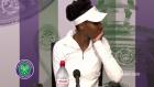 Venus Williams gözyaşlarına boğuldu!