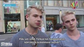 Almanlar'a ''Türkler'i Kıskanıyor musunuz?'' Diye Sormak