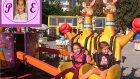 Antalya Atatürk Parkı Lunapark Çarpışan Araba Dönme Dolap Carousel Gondol