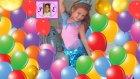 Elif Balon Patlatmaca Oynuyor..anna Elsa Ve Little Ponny Yarışıyorlar.eğlenceli Çocuk Videosu