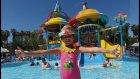 Elif ile Antalya Aquaparktayız, Dev kaydıraklar dalga havuz çok eğlendik