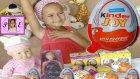 Elif Yeni Bebeği Sinem ile Kinder Joy Topi ve Gogo Sürpriz Yumurta Açıyor
