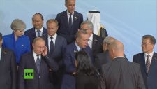 G20 Lider Zirvesi'nde Aile Fotoğrafının Çekilmesi