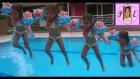 Havuzda  Atladık. Elif Kolluk Olmadan Yüzmeyi Deniyor :))). Eğlenceli Çocuk Videosu