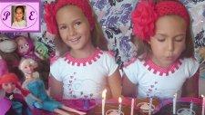 Karlar Kraliçesi Elsanın Doğum Günü . Elif ve Elsa Anna Barbie ve Zelişi Ağırlıyor ::))