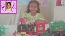 Oyuncak Tren ve Vagonlar .. Çocuk Videosu. Train For Kids Doll Toys