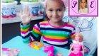 Prenses  Gala ve Güzel Saçları İçin Saç Kurutma Makinası . Çocuk Videosu. Video For Kids
