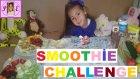 Smoothie Challenge Elif  ile Kapışıyoruz Kazanan Tabikide Elif ::))