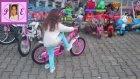 Yeni Bisiklet Lily İlk Kez Deniyoruz ))