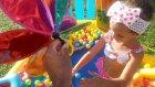 aliş ve elif dinozor havuzunda aliş uyanamıyor, Eğlenceli çocuk videosu