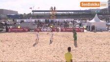 Avrupa Plaj Futbolu Şampiyonası Start Aldı