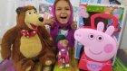 Domuz Peppa Doktor Oyunu Toys Unboxing , Eğlenceli Çocuk Videosu
