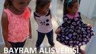 Elif İçin Bayram Alışverişi, Niyetimiz Elbise Almaktı Ama Yine Olmadı, Eğlenceli Çocuk Videosu
