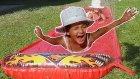 Elif İçin Sürpriz Su Kaydırağı ,eğlenceli Çocuk Videosu