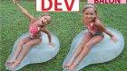Elif İle Dev Balonlara Su Dolduruyoruz.patlaması Çok Eğlenceli Oldu . Çocuk Videosu