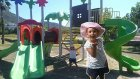 Elif parkta , oynuyor spor yapıyor , Eğlenceli çocuk videosu