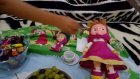 ev içinde piknik yaptık, elsa maşa ariel beraber , eğlenceli çocuk videosu