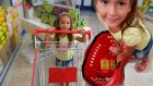 Gofret challenge alışveriş videosu  ,  Eğlenceli çocuk videosu