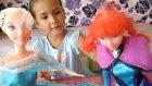 Karlar Ülkesi Anna Elsa Dergisi Aldık... Hediyeleri Çok Güzel