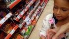 Kraker Challenge Alışverişi , Bim Şok A101 Migros Carrefour Marketlerdeki Tüm Markalar Çocuk Videosu