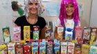 Süt Challenge yaptık , Markalar yarışıyor ilk 3 ü seçiyoruz. Eğlenceli çocuk videosu