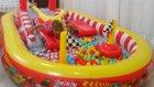 Yeni İntex Araba Kaydıraklı Oyun Havuzu Açıyoruz , Toys Swimming Pool Unboxing, Çocuk Videosu