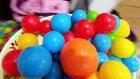 1000 topu merdivenlerden döktük, eğlenceli çocuk videosu