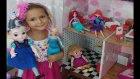 Anna elsa ariel maşa ve elif  oynuyor markete alışverişe gidiyor,Eğlenceli çocuk videosu
